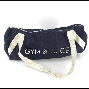 Private Party | Gym & Juice Chambray Duffle Bag